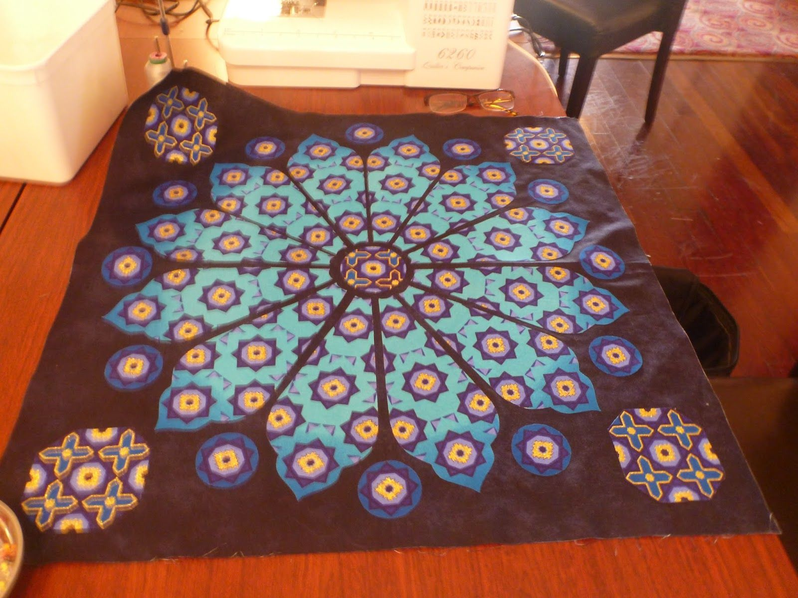 Patchwork, Quilting and Craft Workshops and Retreats: Gail Lawther retreat 2015