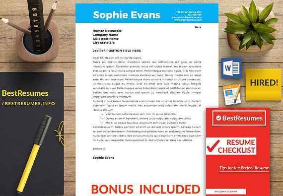 Simple Resume Template Free Resume Template Instant Download Cover