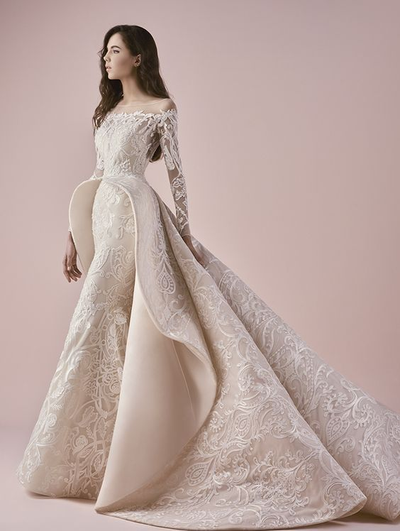 d2450589b11c Featured Dress  Saiid Kobeisy  Wedding dress idea.