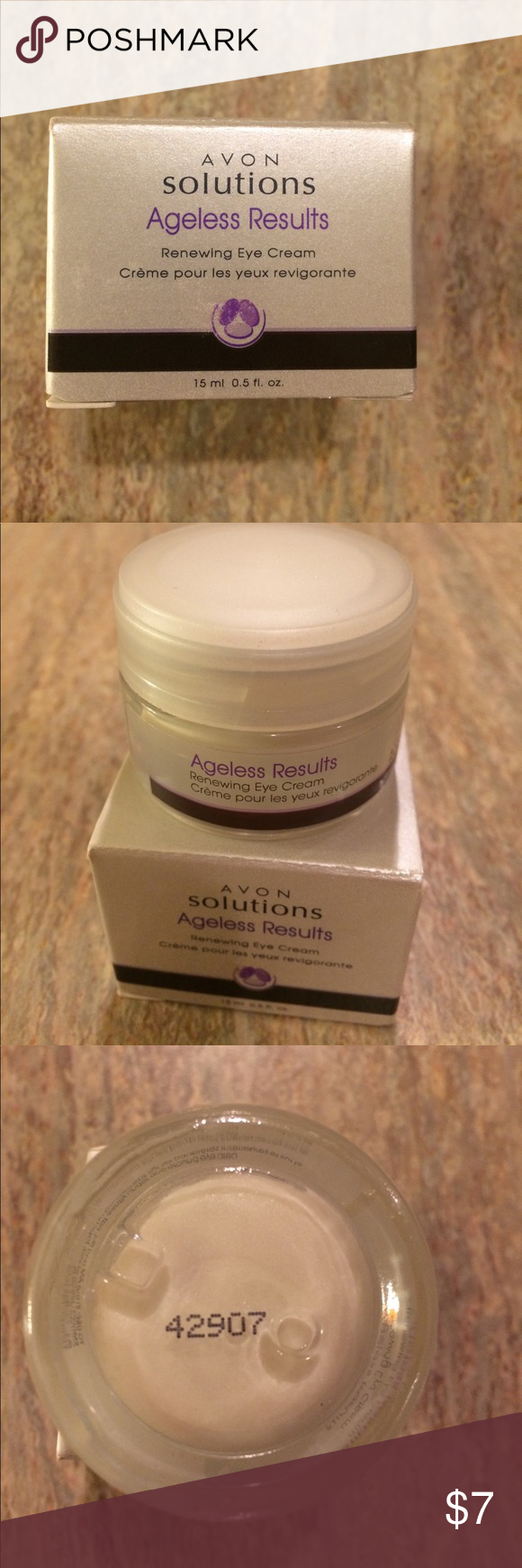NEW Avon Ageless Results eye cream Eye cream, Avon, Ageless