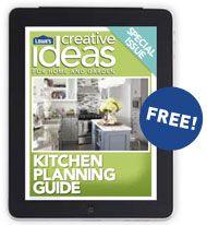 Lowe's Creative Ideas App Kitchen wall shelves, Kitchen
