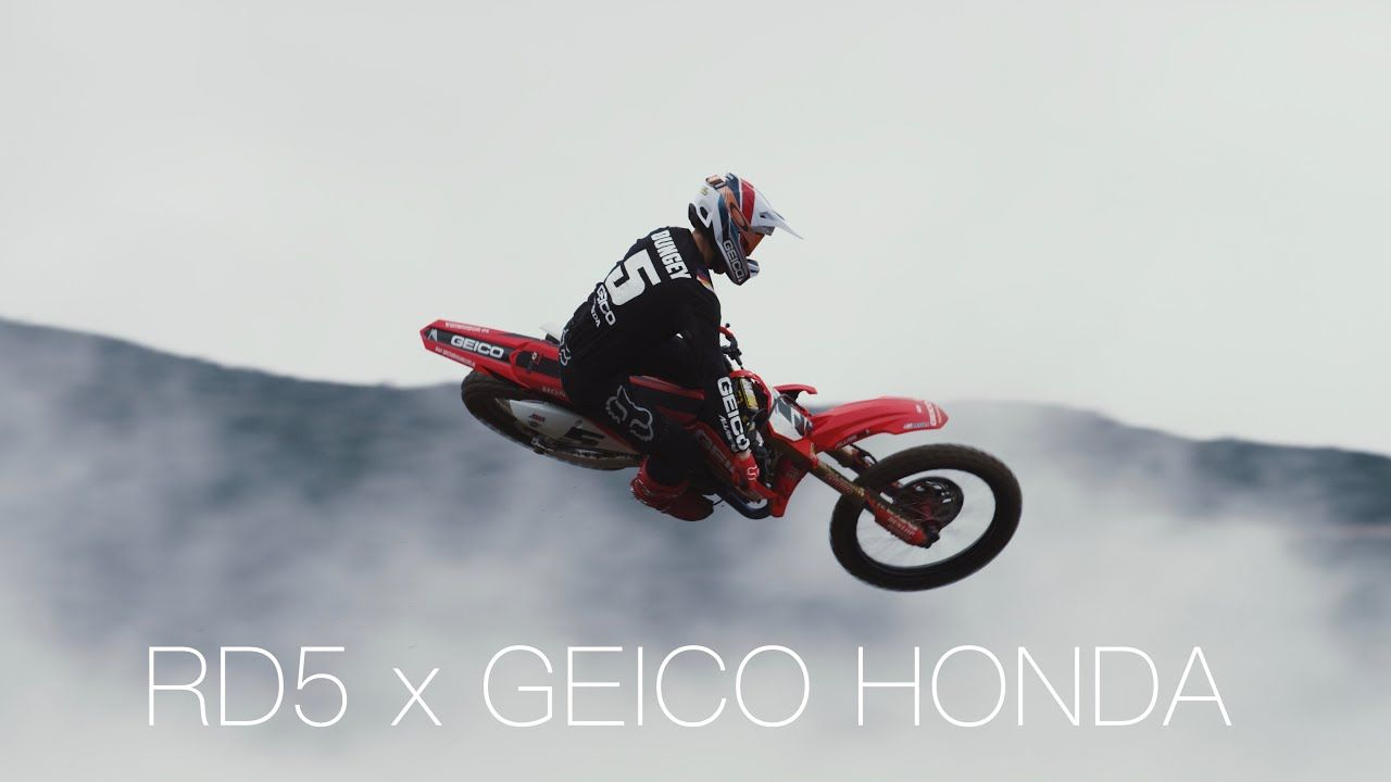 Ryan Dungey S First Ride Onboard The Geico Honda Youtube In 2020 Geico Honda Ryan Dungey Dungey
