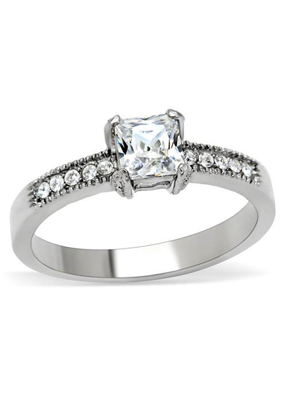 Sassi jewels princess cut solitaire ring fashion pinterest