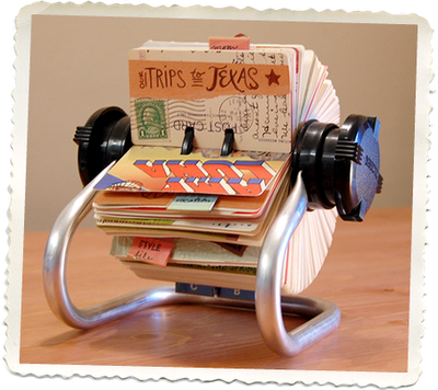 This is a great non traditional Journal/scrapbook Idea!!