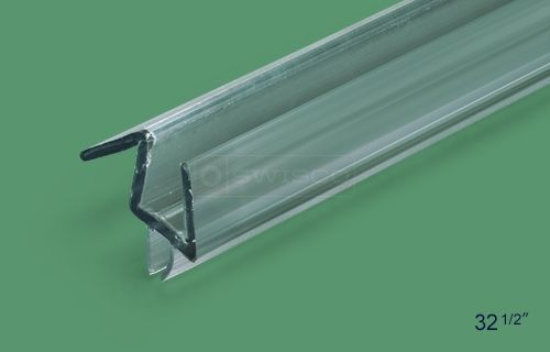 3 8 Frameless Shower Door Sweep With Drip 47 Frameless Shower Doors Door Sweep Shower Doors