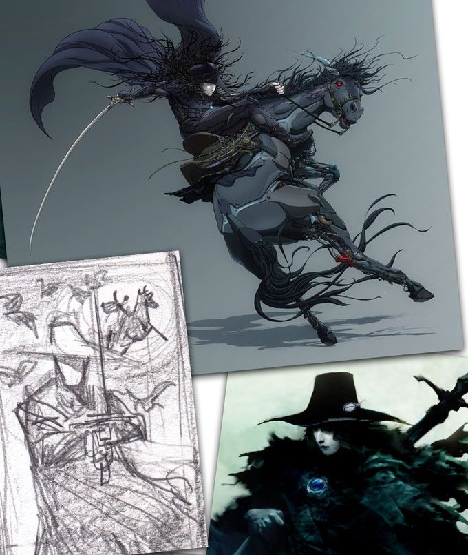 Vampire Hunter D Heads To Mars With Kickstarter Funded Comic