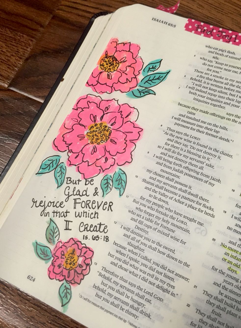 Bible art journaling. Illustrated faith. Hand lettering