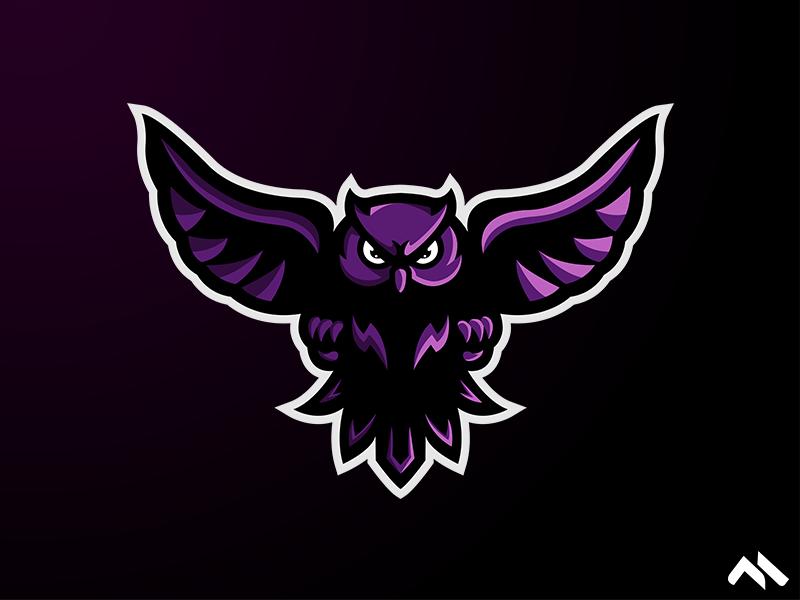 Owl Mascot Logo Owl Logo Game Logo Design Logos