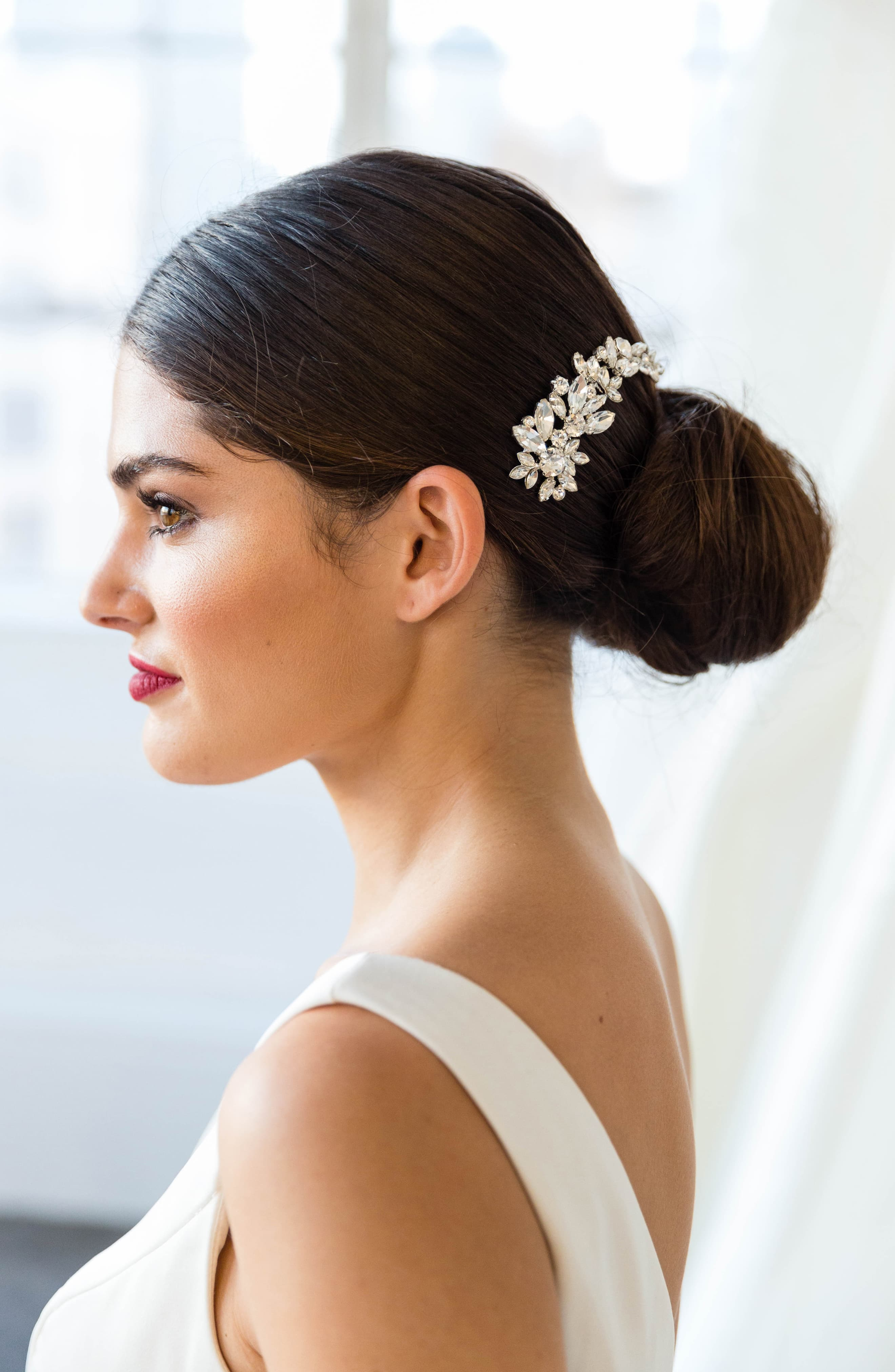 Brides Hairpins Cameo Comb Size One Size Metallic In 2020