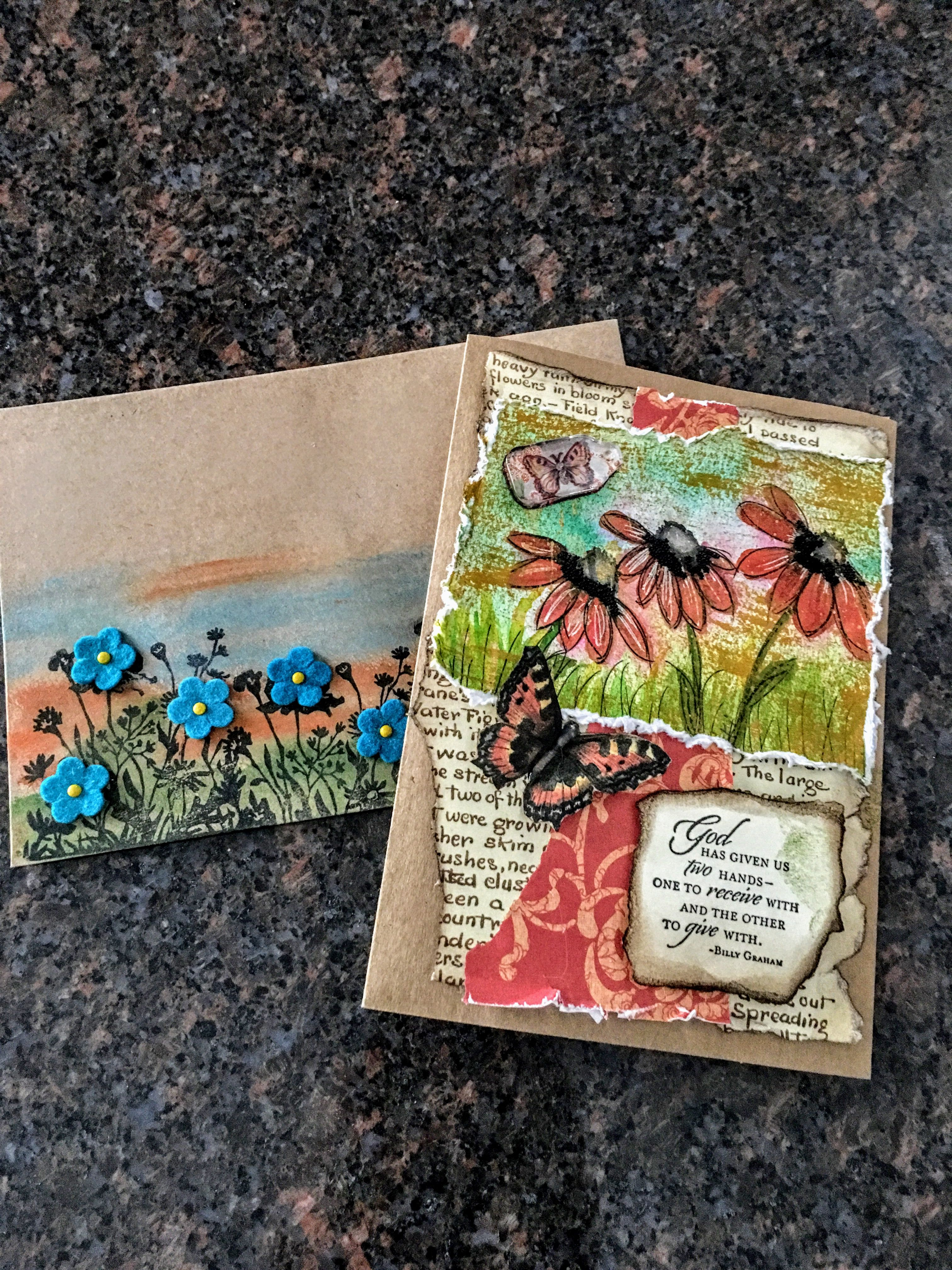 inspirational card fancy envelope  inspirational cards