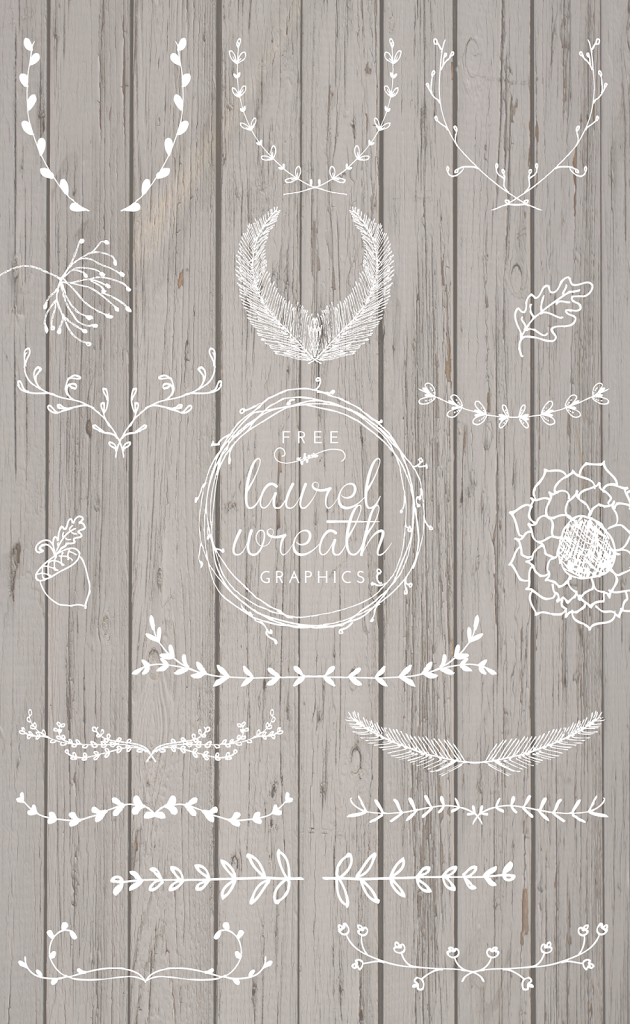 Free Laurel Wreath Graphics | Simple things, Continue reading and ...