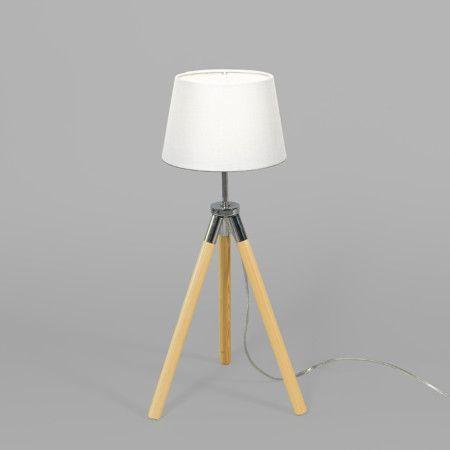 Mix 'n Match Tischleuchte Treppiede Schirm 18cm rund #Lampe #Innenbeleuchtung #Stehlampe #Leselampe #Nachttischlampe