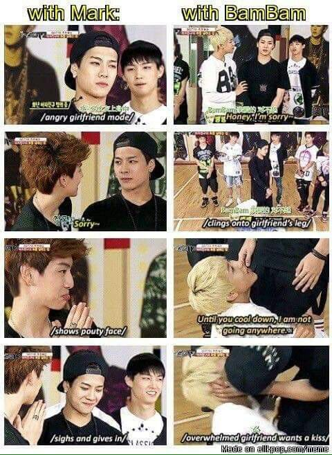 is got7 mark and jackson dating
