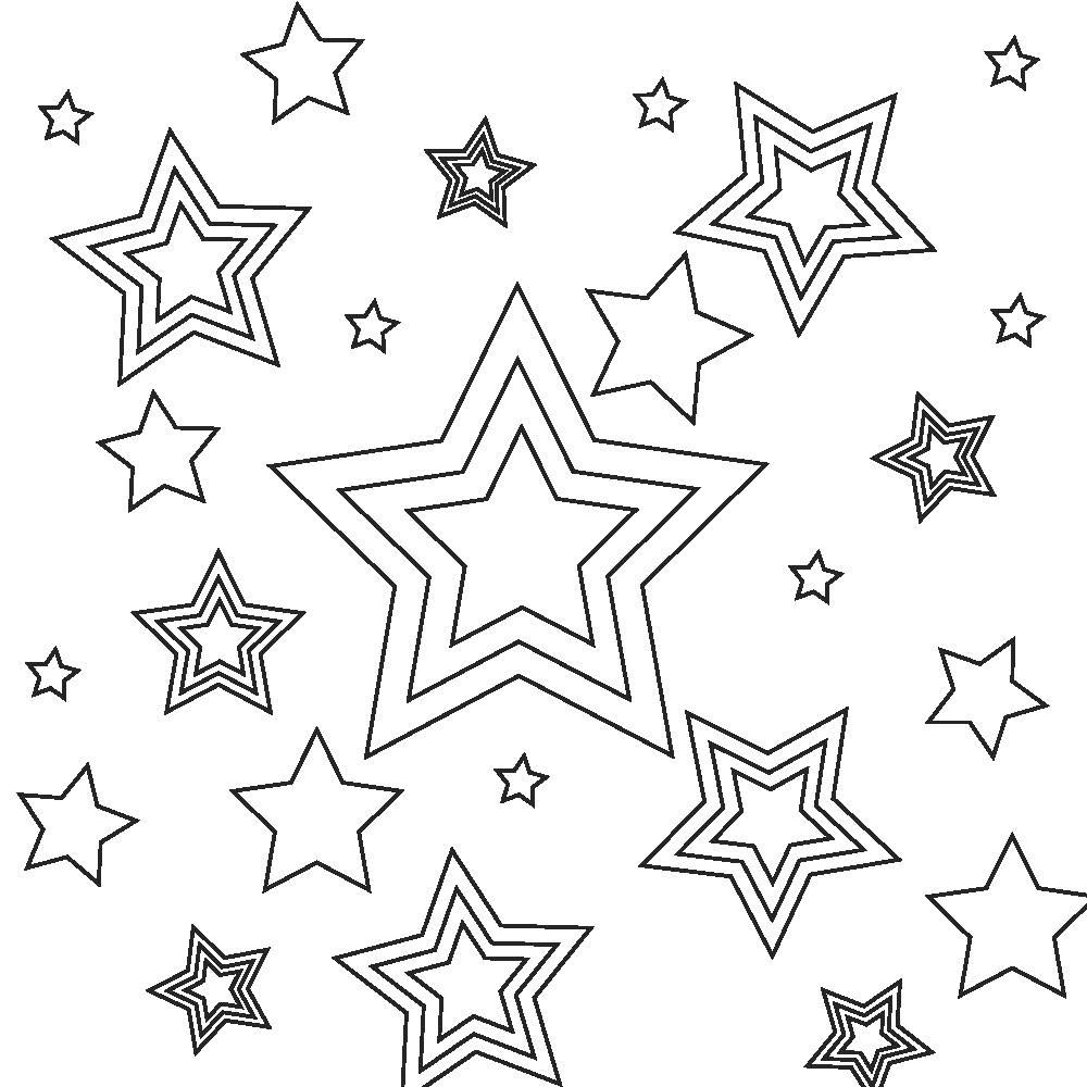4th Of July Stars And Stripes Coloring Page With Images July