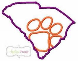 Clemson tiger mascot coloring pages bing images ihood for Tiger paw coloring page