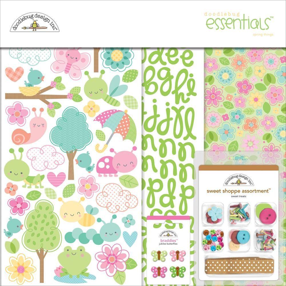 Doodlebug Designs Essentials Page Kit 12x12