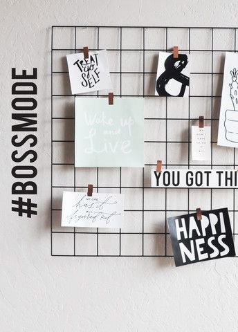 Hashtag Boss Mode - WALL DECAL
