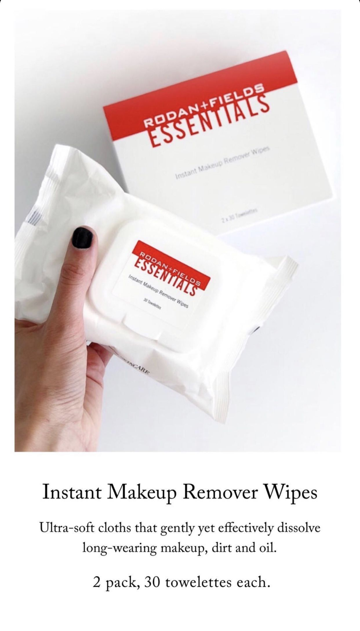 Pin by Kylye Turner on R+F in 2020 Makeup remover wipes