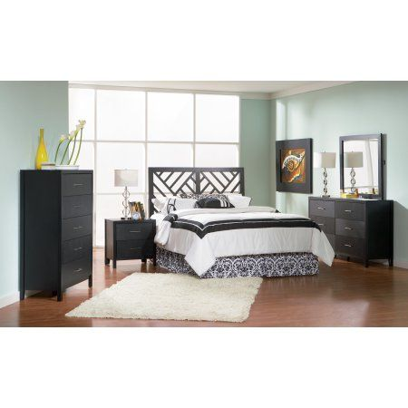 Coaster Company Grove Transitional Queen Headboard, Black Products