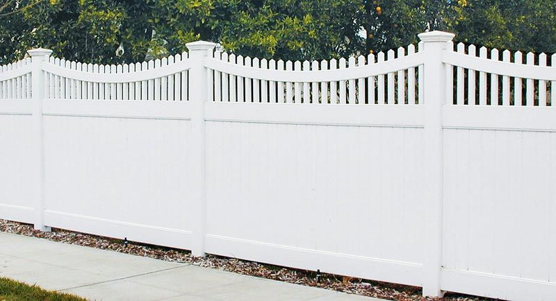 Wood fencing is an excellent choice to create a natural feel for ...