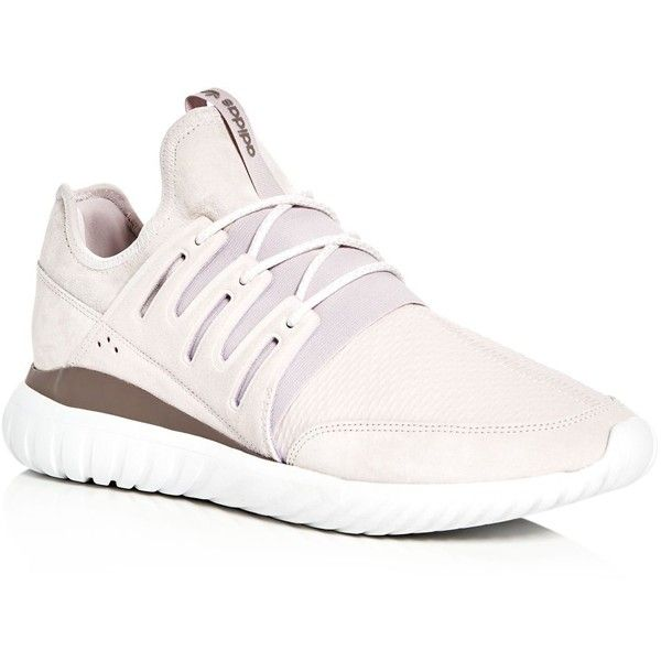 new styles b07d3 c6dff Adidas Men's Tubular Radial Lace Up Sneakers ($110) ❤ liked ...