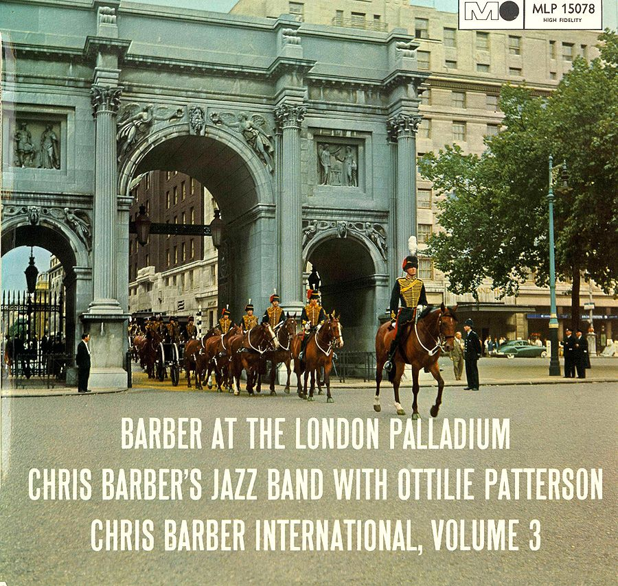 Chris Barber at the ... hang on, that's not the London Palladium