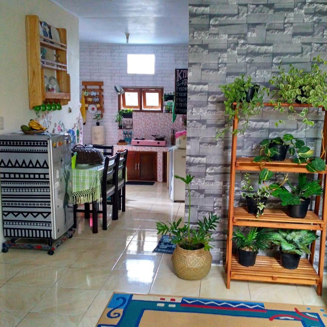 Ruang Keluarga Menyatu Dengan Makan Minimalis Lagi Ngetren Small E Kitchen Design Rumah