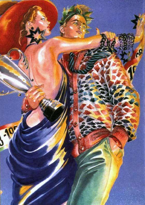 Great Fashion Illustrators Antonio Lopez For Missoni En 2020
