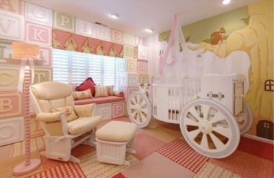 Unique Toddler Beds | Fairy Princess Carriage Baby Crib. A luxury ...