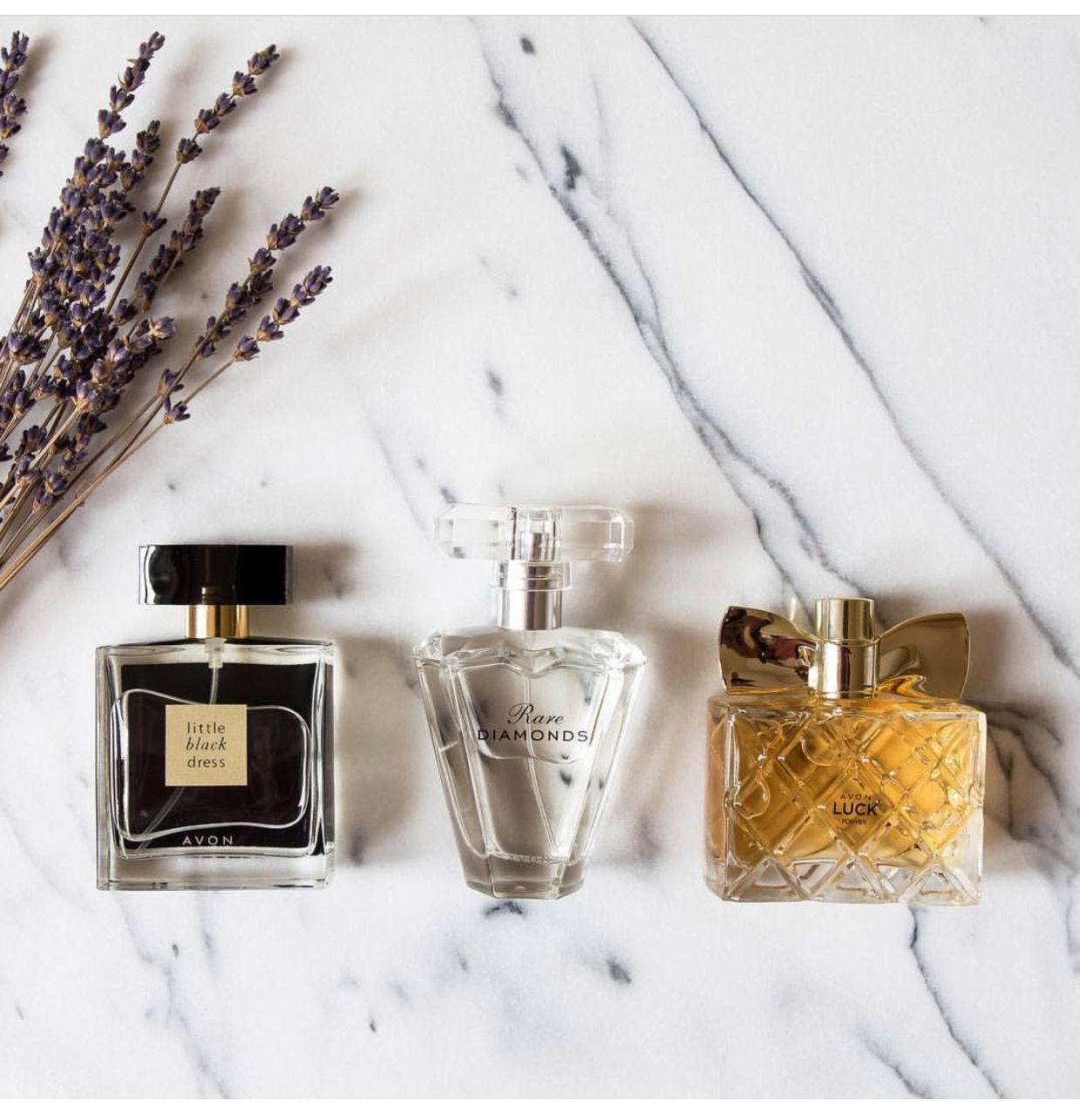 Perfumes smell great at Avon