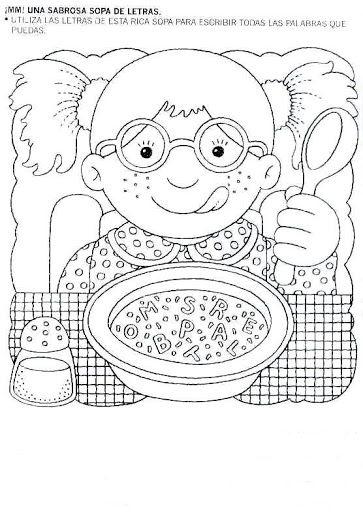 pintar y jugar: actividades para preescolar | Penny | Pinterest ...