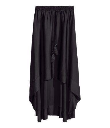 FALDA #SATÉN @H&M 24.95€ #moda #asimetrico #tendencia