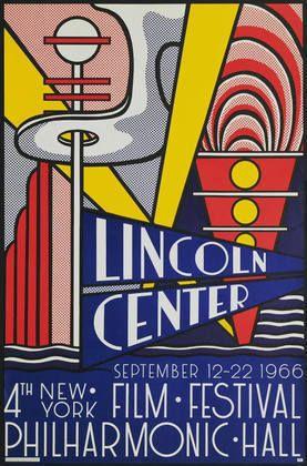 Roy Lichtenstein / Lincoln Center / September 12-22 1966 / 4th New ...