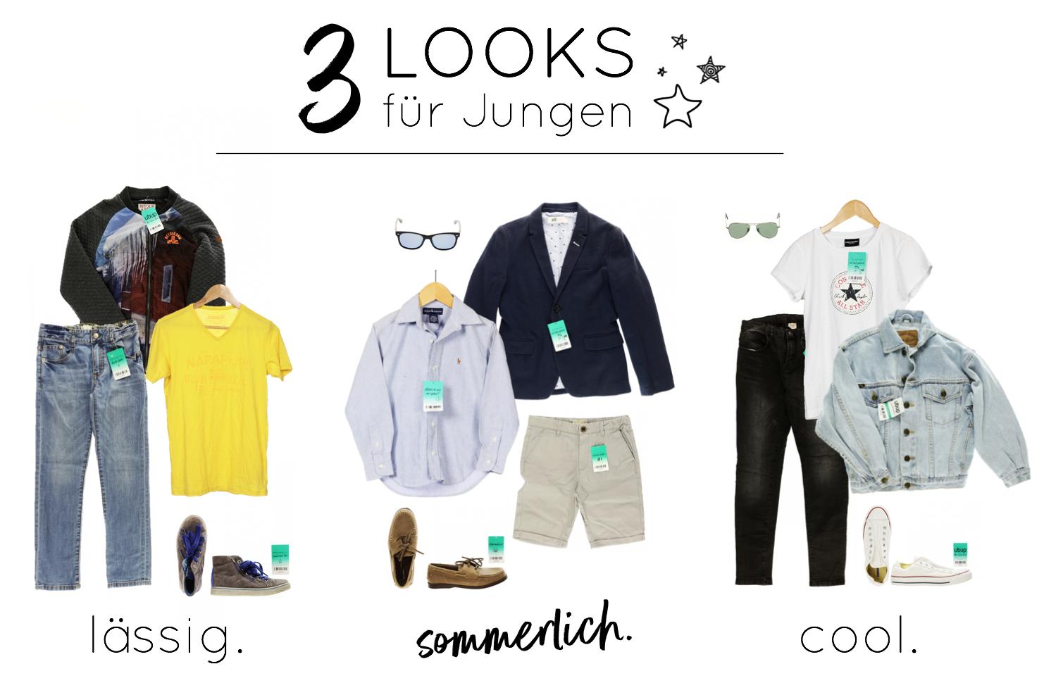 GET THE LOOK - 3 Outfits für Jungen ⎟ ubup.com ...