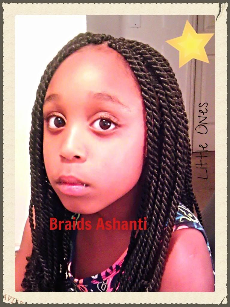 Senegalese Twists My Little Natural Cute Little Girl