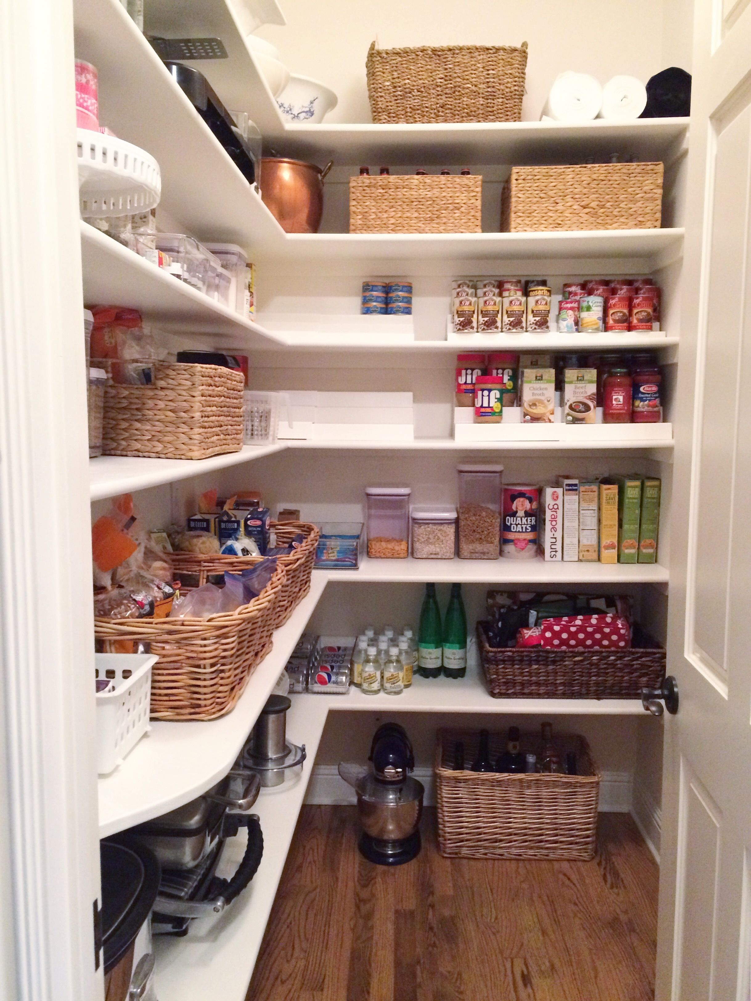 Simply Done: Organized Pantry