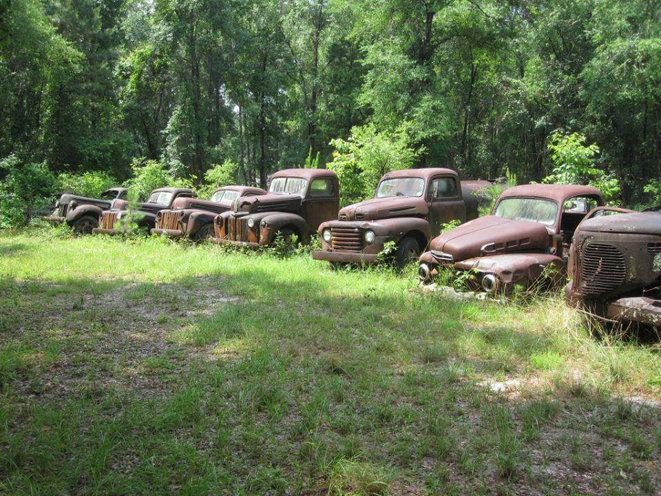 Classic Car Graveyard Us 319 South Of Crawfordville Fl Waiting