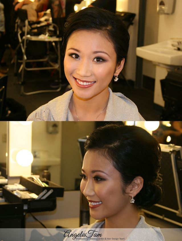 Los Angeles And Orange County Asian Celebrity Wedding Makeup