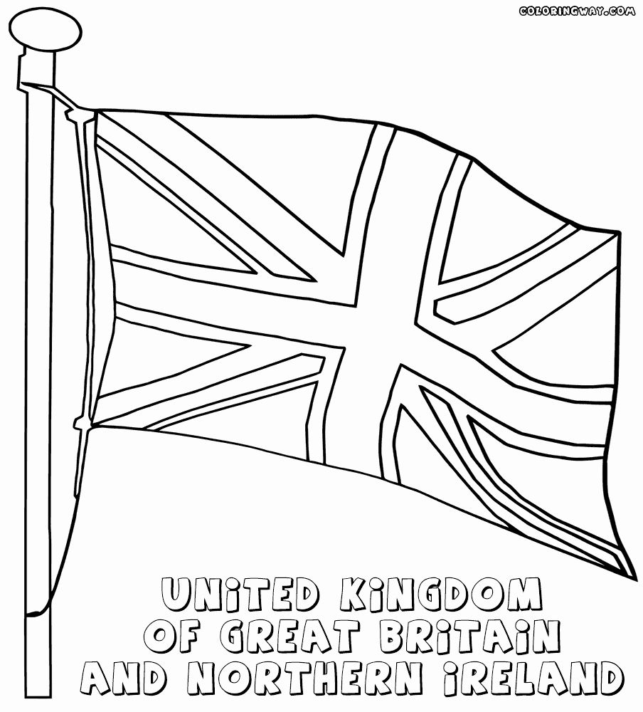 Uk Flag Coloring Pages Inspirational Uk Flag Drawing At Getdrawings Flag Coloring Pages Flag Drawing Uk Flag