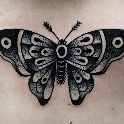 Dark Butterfly Butterfly Tattoo Black Butterfly Tattoo Traditional Butterfly Tattoo