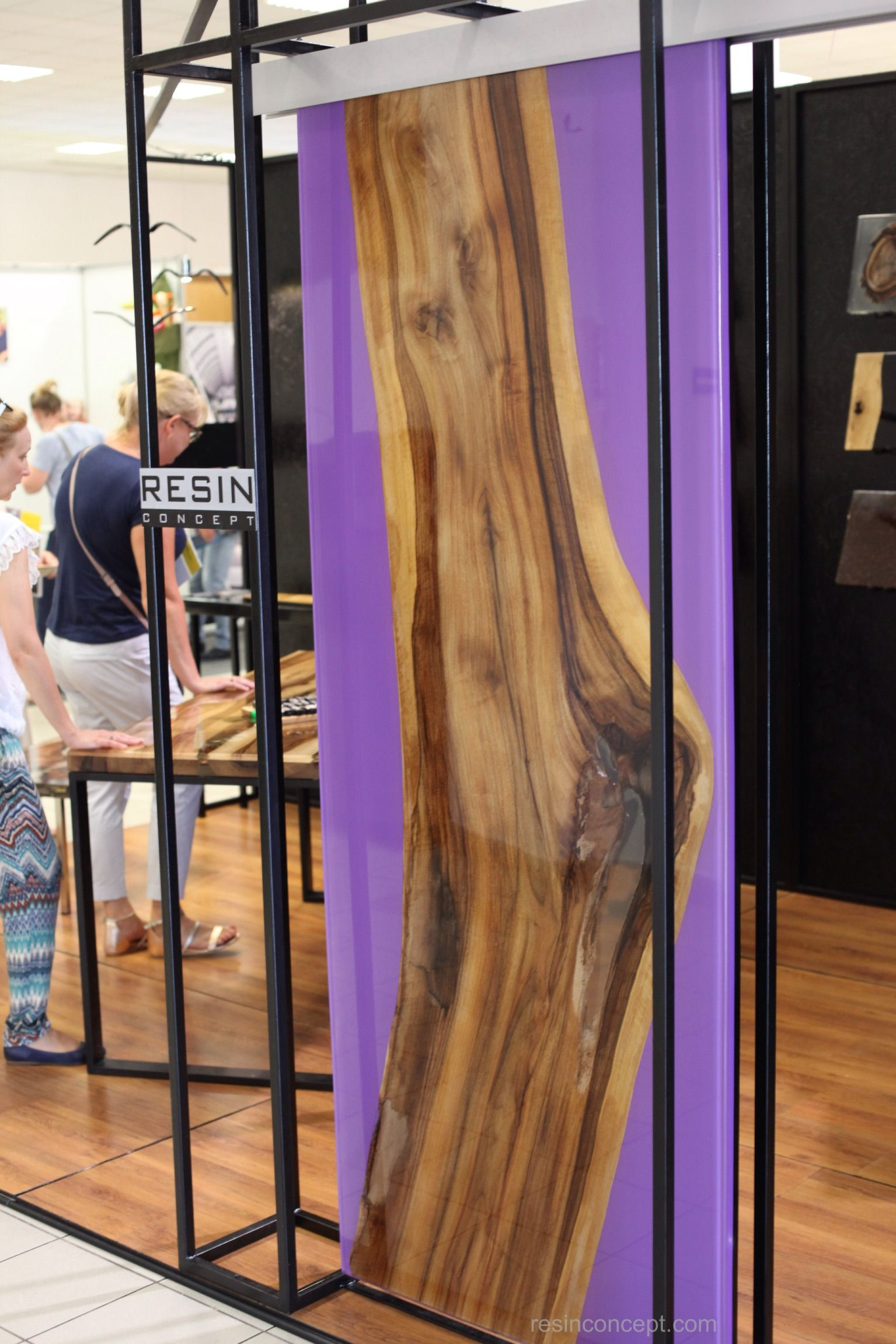 Epoxy Resin Walnut Sliding Doors Resin Concept Wood Doors Interior Interior Panel Doors Glass Panel Internal Doors
