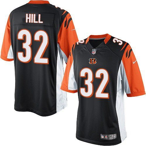 Nike Limited Jeremy Hill Black Youth Jersey - Cincinnati Bengals  32 NFL  Home 75e5b81be