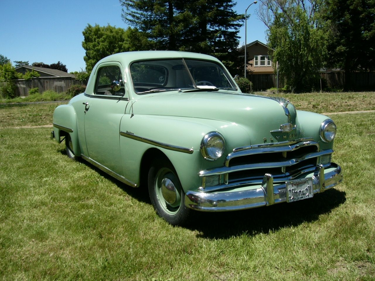 Plymouth 2 door business coupe 1950 automundo 1 for 1950 plymouth 2 door coupe