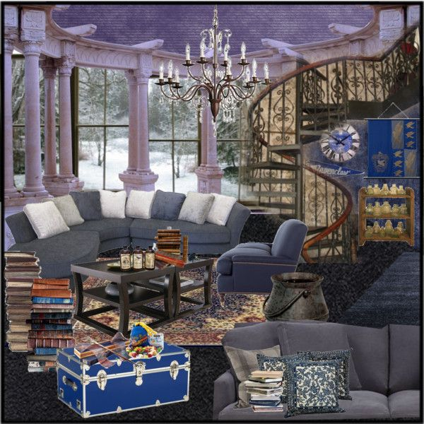 The Ravenclaw Common Room [807] | Ravenclaw, Room set and Room