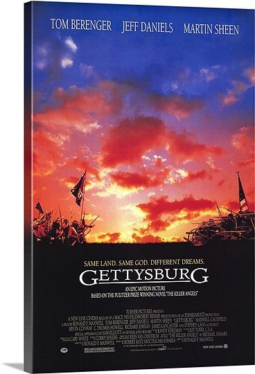 Gettysburg (1993) Solid-Faced Canvas Print