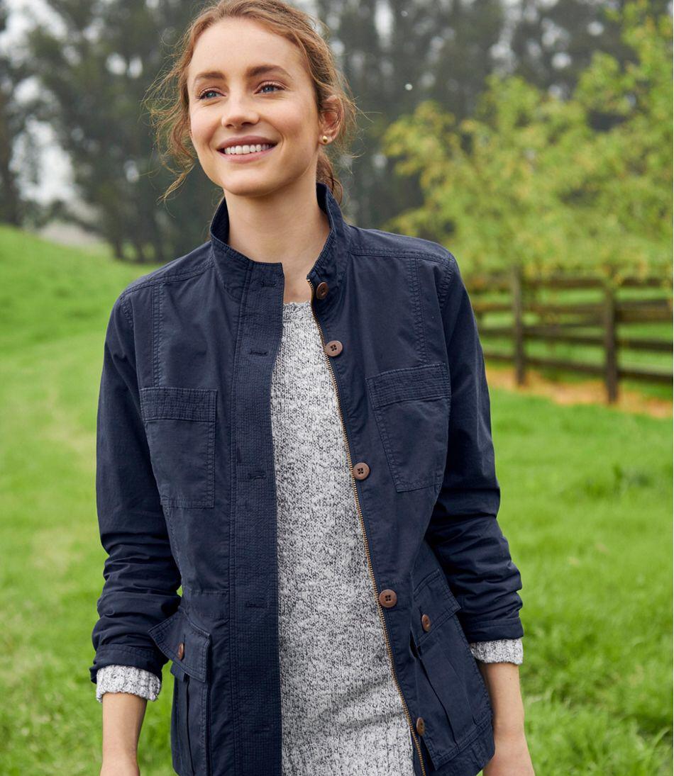 Women S Ripstop Field Jacket Womens Fashion Jackets Outerwear Women Field Jacket [ 1095 x 950 Pixel ]