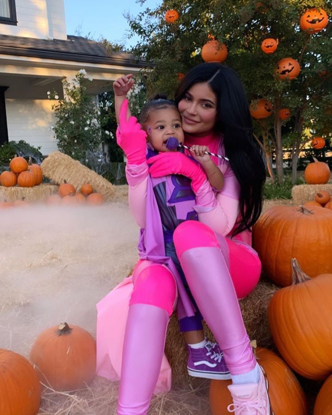 Kylie and Stormi for Halloween in 2020 Kylie jenner