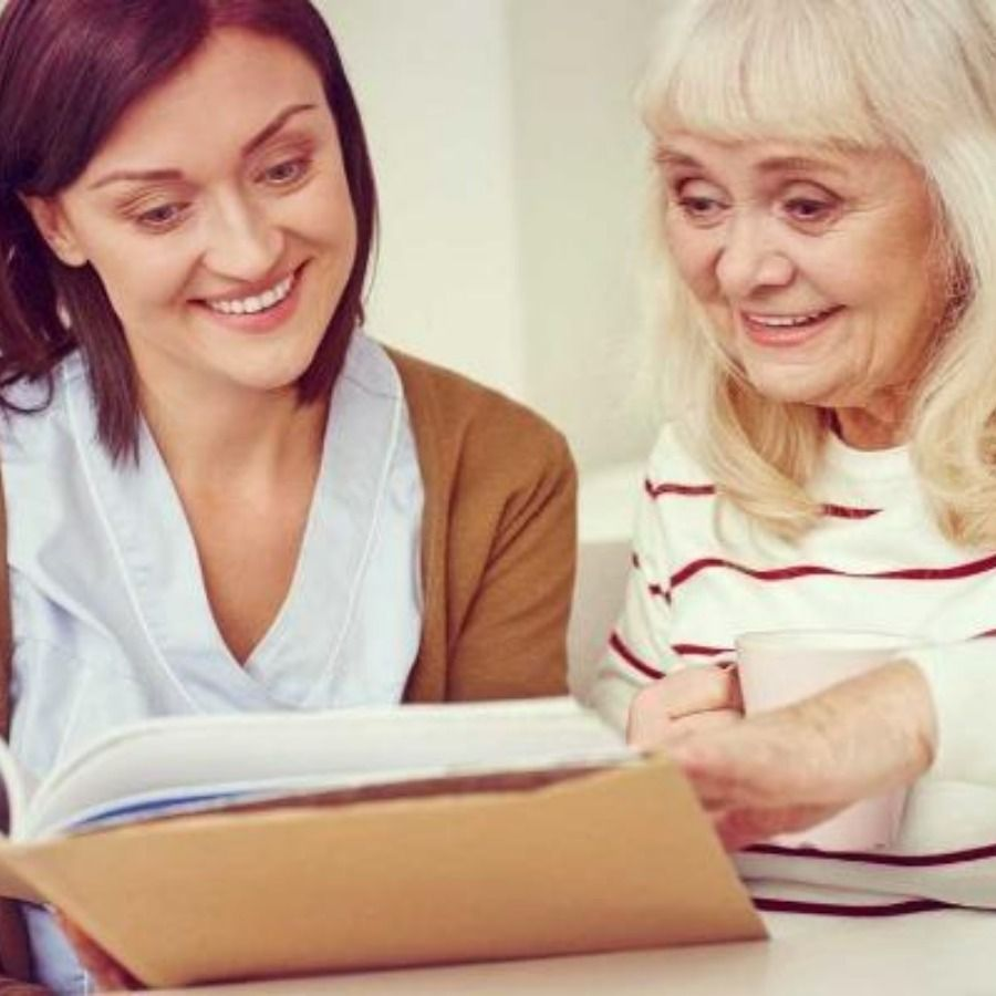Inhome care services can help someone who is aging and