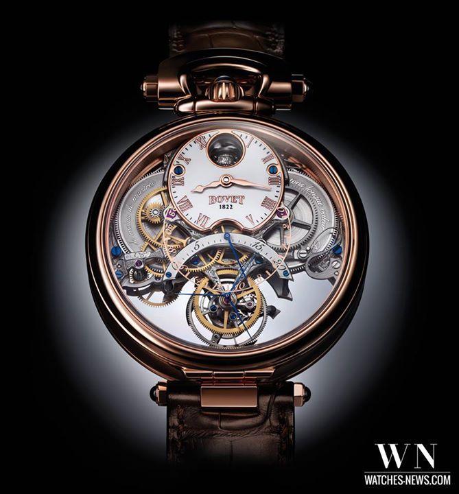 www.watches-news.com Bovet - Amadeo Fleurier Braveheart #Watch