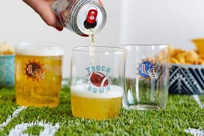 Dress Up Your Drinking Glasses for the Big Game — Party Tricks   Kitchn